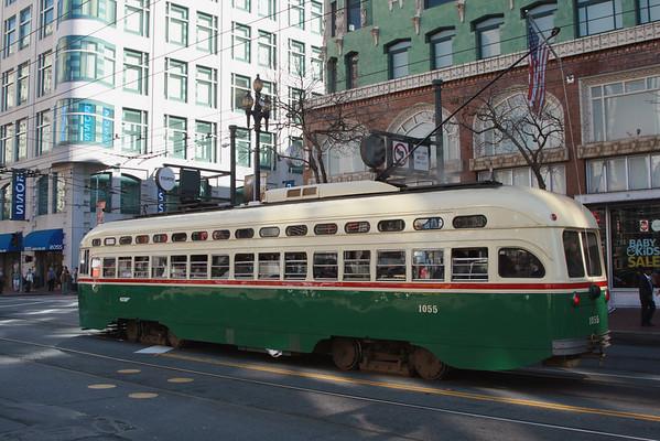 Troller on San Francisco Market Street