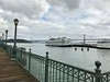 Yerba Beuna, the Bay Brdige, and The San Francisco Belle from Pier 7
