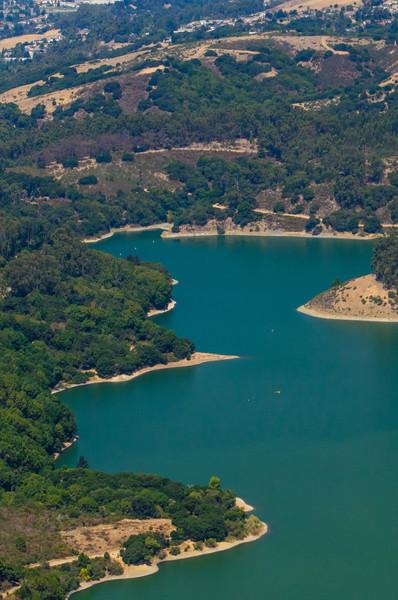 Lake Chabot Aerial Image East Bay - J709250