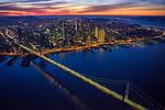 San-Francisco-Skyline-Cityscape-at-Dusk-Sunset-Bay-Bridge-Embarcadero-Golden-Gate-Bridge-Twin-Peaks-Waterfront-Reflections_D815243-California-Fine-Art-Photography-Healthcare-Fine-Art-Salesforce-Building