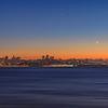 Celestial event over San Francisco