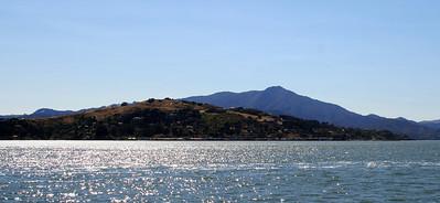 Mt. Tamalpais from San Francisco Bay, 30 Jun 2008.