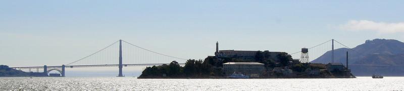 Alcatraz and Golden Gate. 30 Jun 2008.