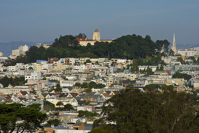 San Francisco from the DeYoung Museum