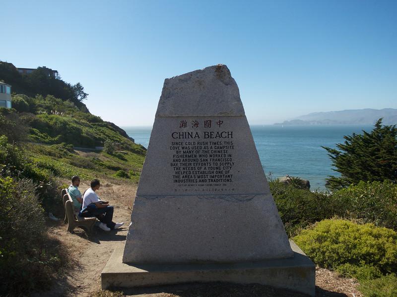 China Beach below Sea Cliff in San Francisco<br /> 01 China Beach 2013-09-07 at 15-59-23