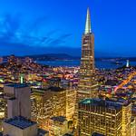 """San Francisco Cityscape at Dusk"""