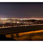 SF NIght City Panorama 8x11