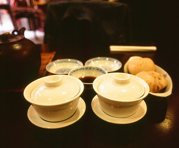 Afternoon Tea and Pork Buns at Imperial Tea Company - © 2012 Brian Neal