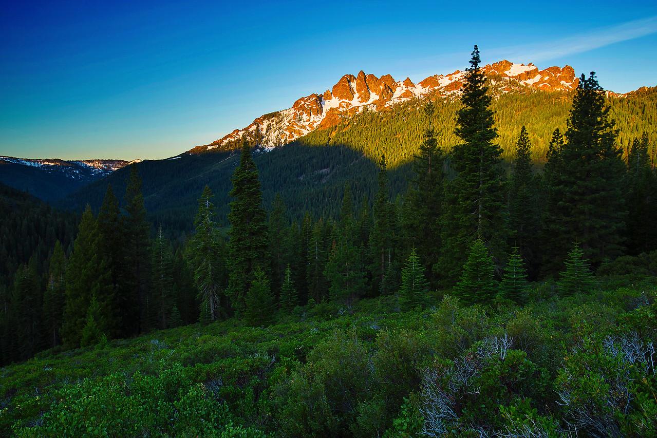 California,  Tahoe Sierra, Sierra Butte,  加利福尼亚
