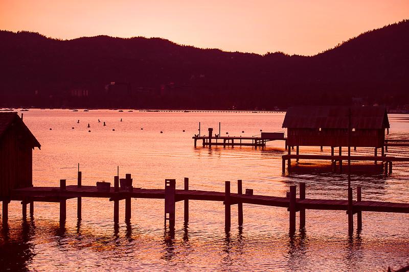 California; Lake Tahoe; Sunrise; 加利福尼亚; 太浩湖; 日出