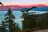 California; Emerald Bay State Park; Lake Tahoe; Sunset; 加利福尼亚; 太浩湖; 翡翠湾公园; 落日