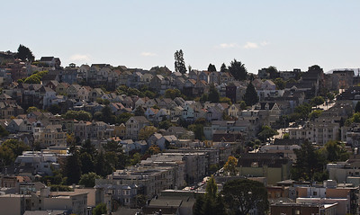 San Francisco from the Hills.