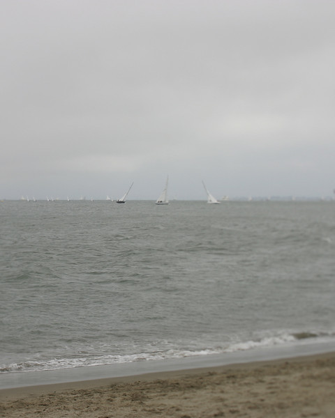 Sail boats, Crissy Field, San Francisco, June 2008