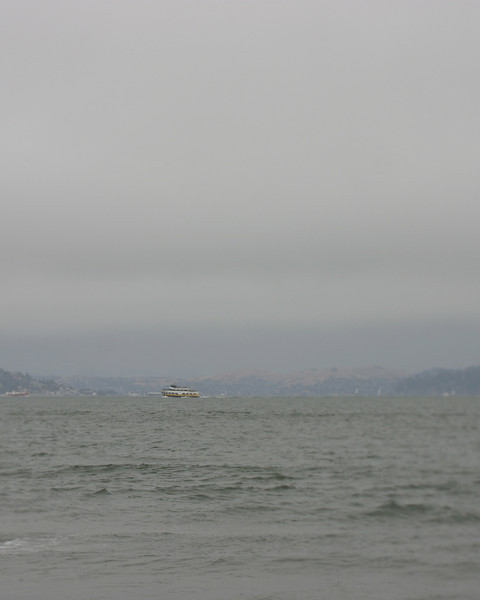 Ferry Boat, Crissy Field, San Francisco, June 2008