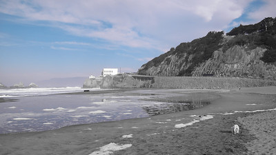 Blacken & Cliff House, Ocean Beach, San Francisco, November 2008