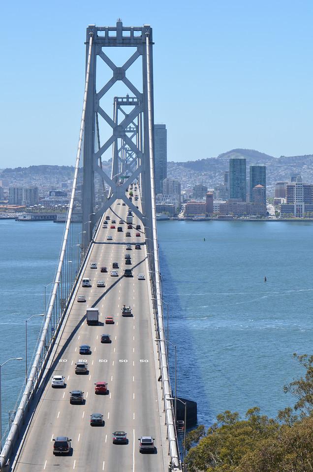 San Francisco Bay Bridge from Yerba Buena Island