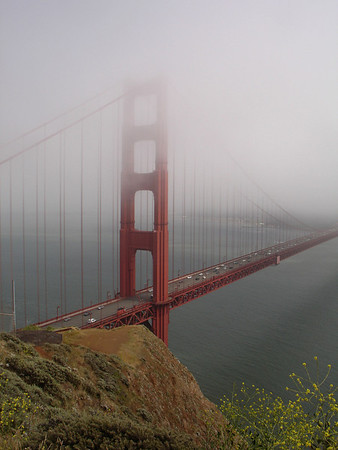 Golden Gate Bridge From NW End