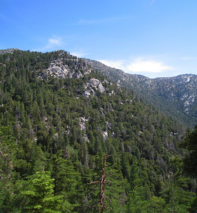 View of Marion Ridge from Suicide Rock, Idyllwild, CA, 23 Jun 2007