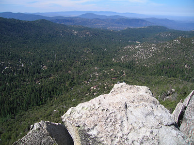 View from Suicide Rock, Idyllwild, CA, 23 Jun 2007