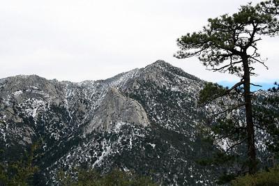 Tahquitz Peak and Lily Rock San Jacinto Mountains, Deer Springs Trail 27 Nov 2010