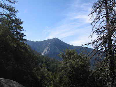 View of Tahquitz Peak and Lily Rock from Suicide Rock trail, 23 Jun 2007