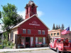 The Old Firehouse in historic Ridgway, Colorado