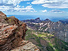 View to the north from the summit of Uncompahgre Peak, Colorado San Juans