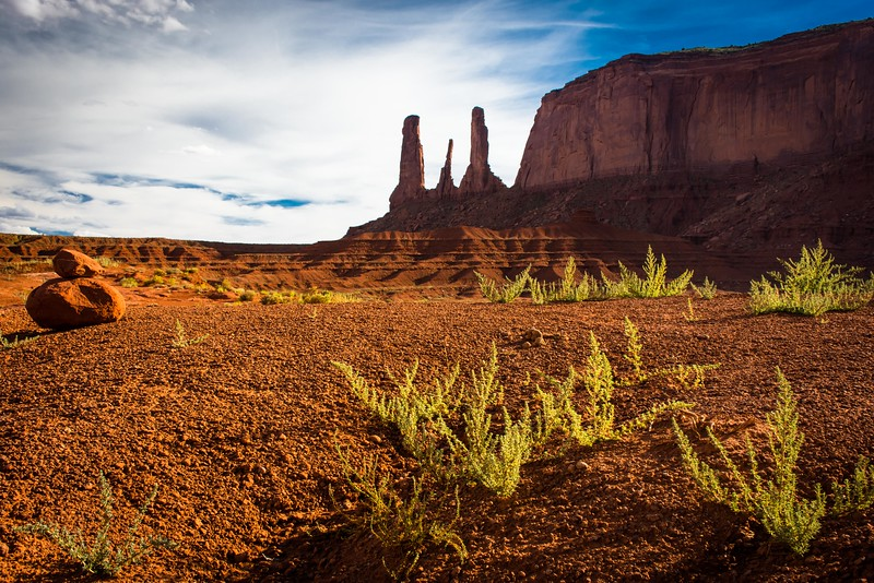 A stop at Monument Valley ... on the way to Colorado