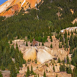 Red Mountain #2 and Yankee Girl Mine, Uncompahgre National Forest, Colorado