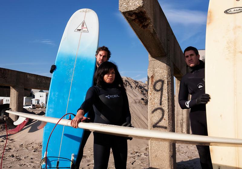 Surfing is back Rockaway Beach