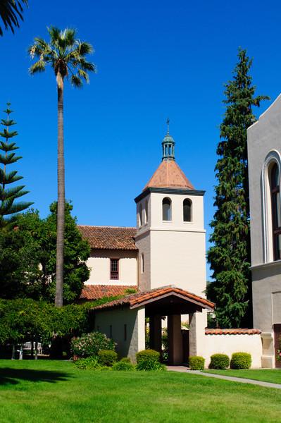 Mission Santa Clara at Santa Clara University