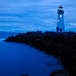 Walton Lighthouse in Santa Cruz, also known as the Santa Cruz Harbor Light. This was shot after sunset and the colors just continued to glow! Most photographers usually pack up and go home but if you keep shooting after sundown you can capture some interesting things!  8818