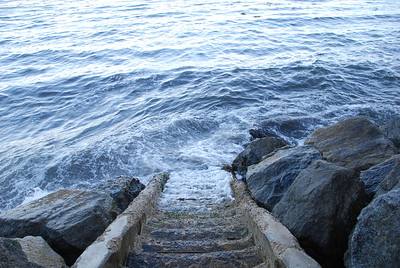 If you don't want to jump off a cliff, take the stairs...