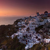 Sunset in Oia.