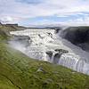 Gulfoss waterfall, iceland at Summer.