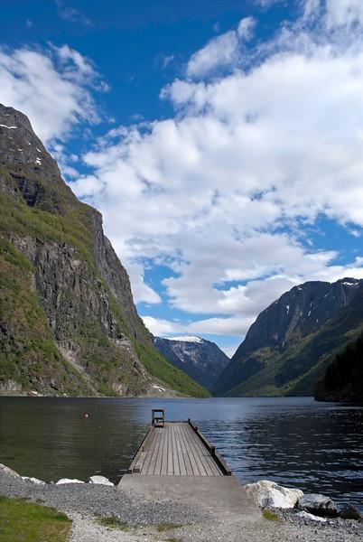 Beautiful Norwegian Landscape taken at Flam (Norwegian: Flamsbana), Aurland.