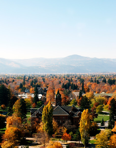 University of Montana in Fall... Missoula, Mt.