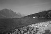 St. Marys Lake, Glacier Nat. Prk. Monochrome
