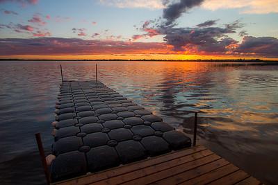Jackfish Lake Sunset 2