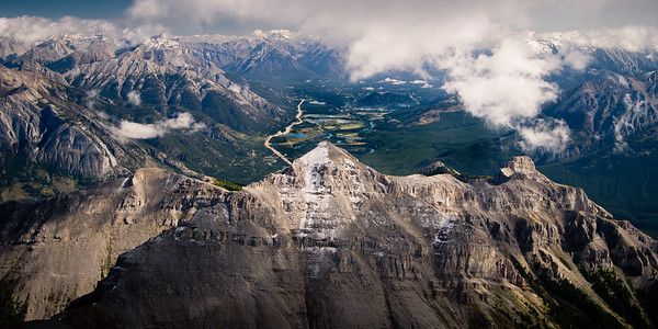 Banff from Bourgeau