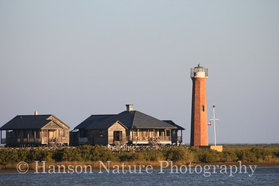 Light House at Aransas Pass, Texas