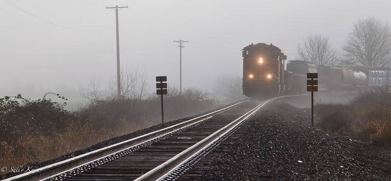 Chugging Through the Fog