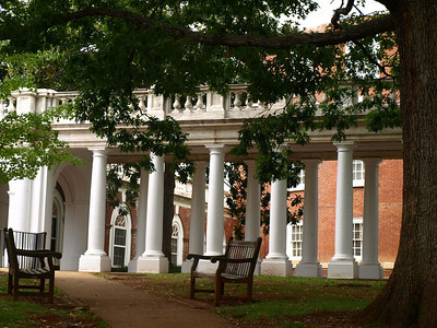 Old UVA Campus in Charlottesville, Virginia
