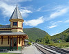 Crawford Notch Railroad Station: White Mountains, New Hampshire