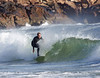 Autumn Surfing at York Beach, Maine