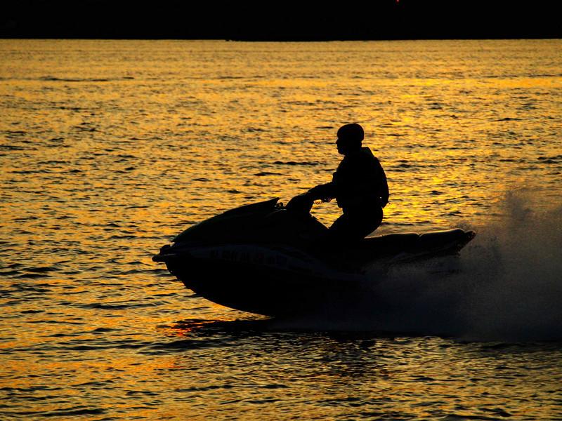 Sunset Jet Ski