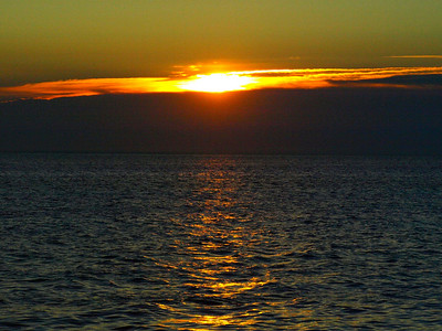 Sunset in Provincetown, Massachusetts