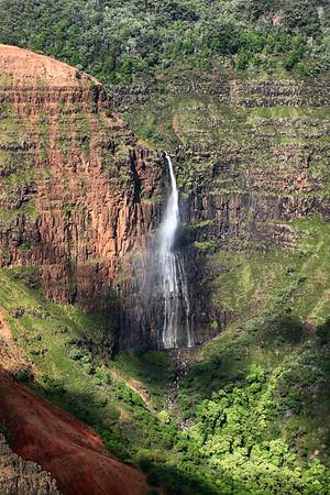 Waimea Canyon Waterfall | Kauai Island, Hawaii