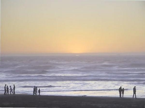 Sunset at Ocean Beach...