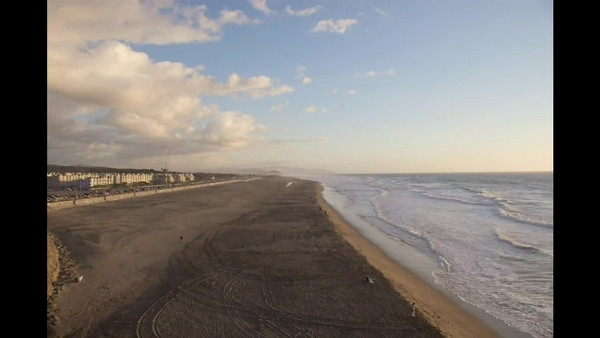 This is a time-lapse video I shot at Ocean Beach in San Francisco. I took a still shot every 45 seconds for a few hours, then put it together into a movie.